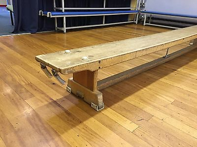 Fab Vintage Retro School Gym Benches  - 2 available.