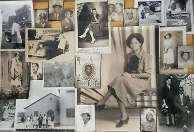 Photo Lot 1930 to 1950s African American re- Richmond California Church; Oakland