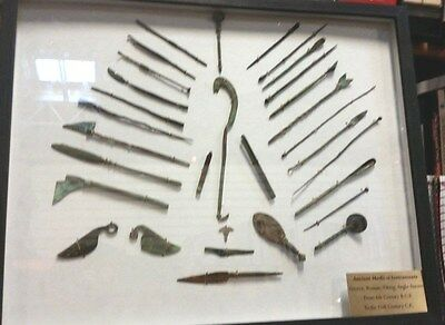 31 Pcs.ancient Medical Instruments From Ancient Greece To The Vikings & Celts