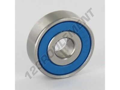 Roulement a billes S626-2RS-INOX - 6x19x6 mm