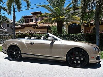 2015 Bentley Continental GT  Only 8k Miles $254,410 Original MSRP Concours Series!!!!