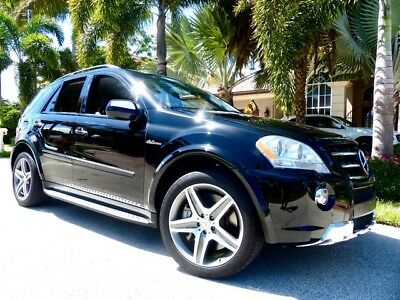 2009 Mercedes-Benz M-Class Base Sport Utility 4-Door ML-63 AMG ONLY 69K Miles CLEAN CARFAX!!!