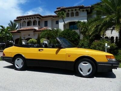 1991 Saab 900  Monte Carlo Edition! 1 of 300 Imported into the USA! Clean CARFAX!