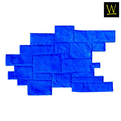 Medieval Cobble - Blue (Single Stamp)