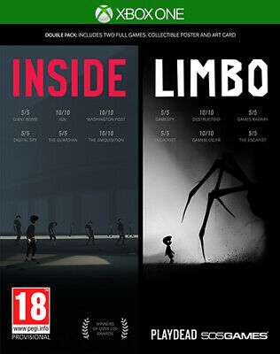 Inside + Limbo Double Pack XBOX ONE 505 GAMES