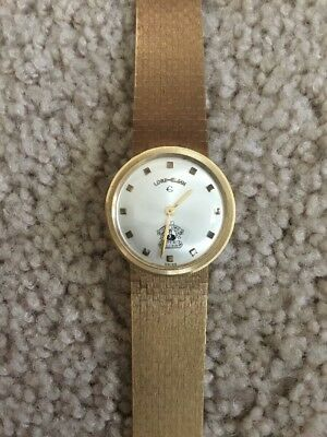 Jerry Lewis 14k Gold MDA First Telethon Watch Lord Elgin