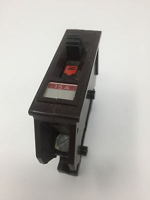 Wadsworth 15 Amp 1 Pole Circuit Breaker Type A A115 Used
