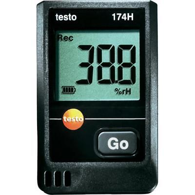 Testo 174H (0572 6560) Temperature/Humidity DataLogger, 2-Channel w/ Wall Holder