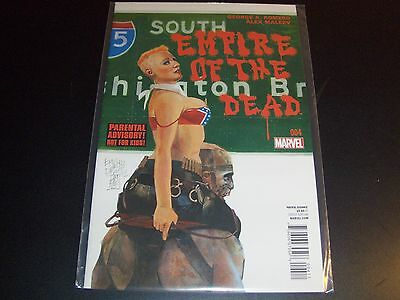 George Romero's Empire of the Dead Act 1 #4 1st print Night Dawn Dead Walking