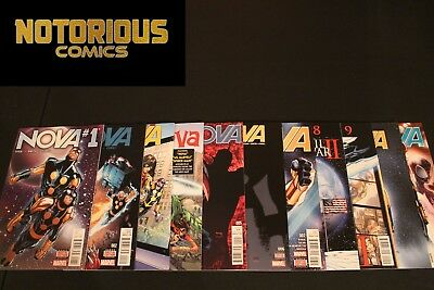 Nova 1-11 Complete Comic Lot Run Set Marvel Collection