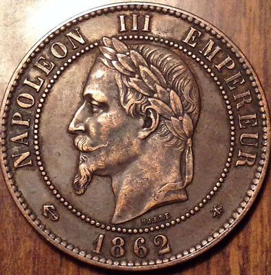1862 France 10 Cents A Great Example !
