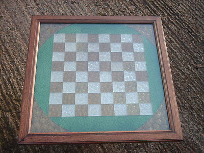 Victorian Antique Chess / Draughts Board