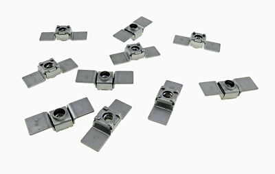 10 Pack 1/4-20 Floating Cage Nut - Weldable Stamping    NR 1420
