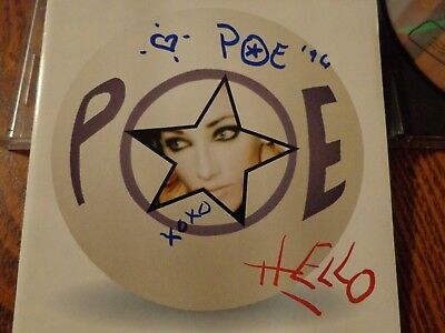 Poe - Hello  - signed CD cover & CD included