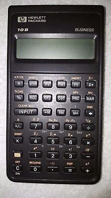 Hewlett Packard HP 10B Business Calculator