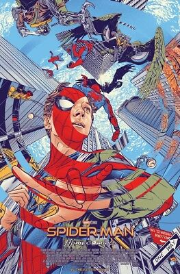 •BRAND NEW• Comic style Spider-Man Homecoming poster 11 x 17 in. PROMO