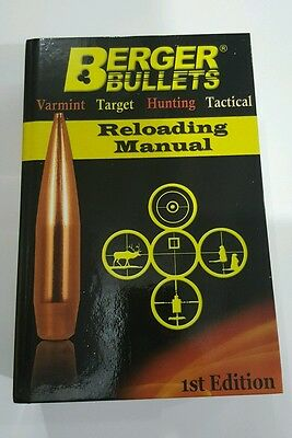 New Berger Reloading Manual, 1st edition #11111
