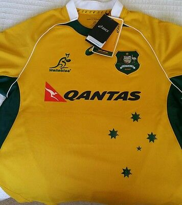 Wallabies Jersey size Large