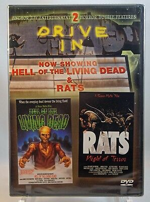 Hell of the Living Dead / Rats: Night of Terror (DVD, 2003) - FACTORY SEALED