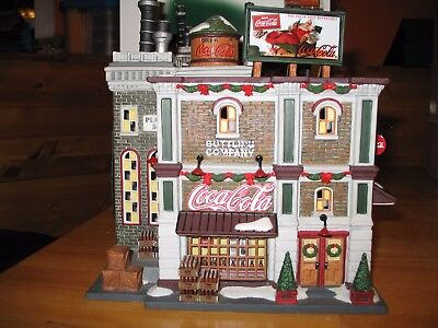 Dept 56 COCA COLA BOTTLING COMPANY Christmas in the City
