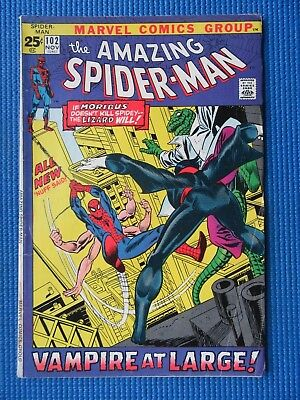 Amazing Spider-Man # 102 - (Fn-) - 2Nd Appearance Of Morbius - Vampire At Large