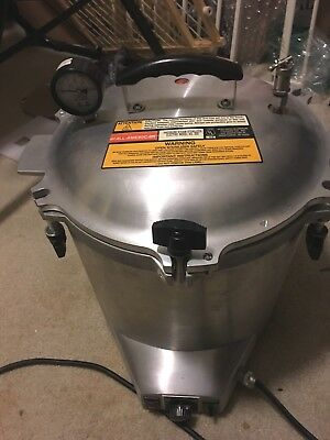 All American Model 25X-1 Electric Pressure Steam Sterilizer