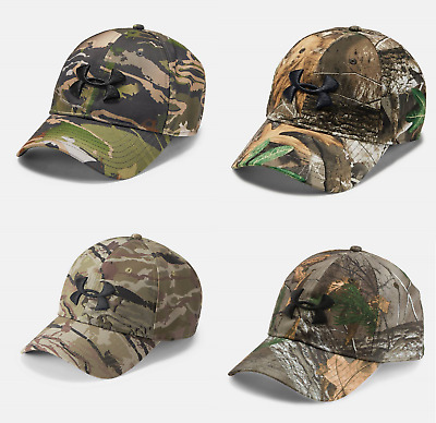 Under Armour Camo 2.0 HeatGear Hunting Scent Control Realtree Adjustable CAP HAT