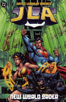 NEW WORLD ORDER JUSTICE LEAGUE OF AMERICA Graphic Novel Trade Paperback TPb JLA