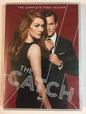 The Catch: The Complete First Season (DVD, 2016, 2-Disc Set) Brand New!! Sealed!