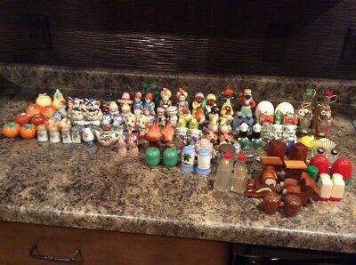 1950's Salt & Pepper Shakers Lot of over 50 Sets - JAPAN Vintage
