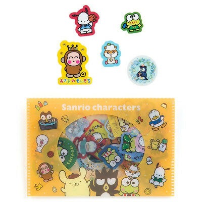 Sanrio Characters Case containing seal ('90s) Purin Pochacco Keroppi F/S NEW