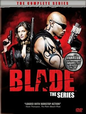 BLADE THE COMPLETE TV SERIES New Sealed 4 DVD Set