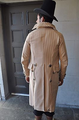 1790'S Tailored Coat, Reproduction, Reenactment, Theatrical Costume