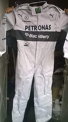 Mercedes Go Kart Race Suit CIK FIA Level 2 with free gift Gloves and balaclava