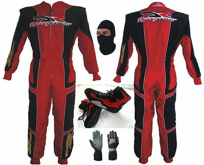 DR Racing Go Kart Race Suit CIK FIA Level 2 with free gift Gloves and balaclava