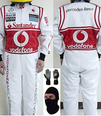 Voda Fone Go Kart Race Suit CIK FIA Level 2 with free gift Gloves and balaclava