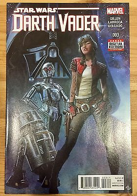 Darth Vader #3 1st Print FIRST APPEARANCE APHRA 2015 Star Wars Marvel Comics