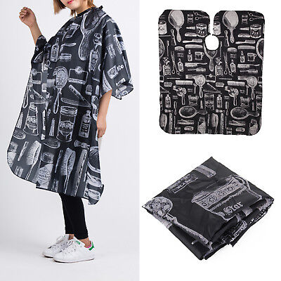 Hair Cutting Cut Hairdressing Barbers Cape Gown Adult Cloth Apron Salon Adult UK