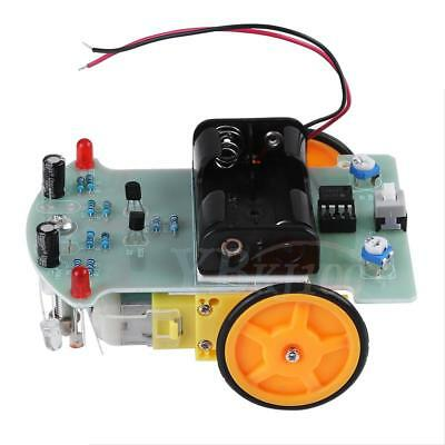 Module 2WD Smart Tracking Robot Car DIY Accessories Kit Components for Arduino