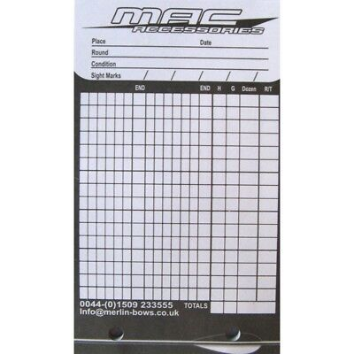 MAC Archery Score Book - Re-Fill Pad (Qty 1)