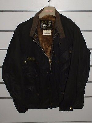 barbour international jacket   jacke waxed cotton c46-117 xl