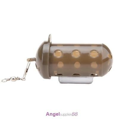 Carp Fishing Feeder Bait Cage Lure Pit Device with Lead Pellet