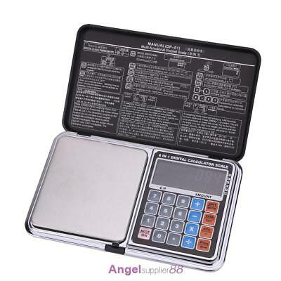 500g x 0.01g Digital Pocket Scale High Precision with Pieces Multi-Function