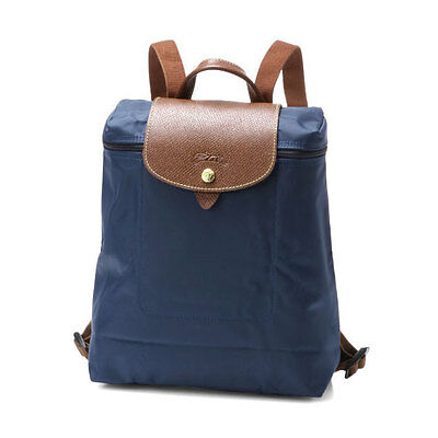 Authentic Longchamp le pliage  backpack Navy