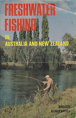 FRESHWATER FISHING in AUSTRALIA & N.Z. GUIDE by R.HUNGERFORD 1976