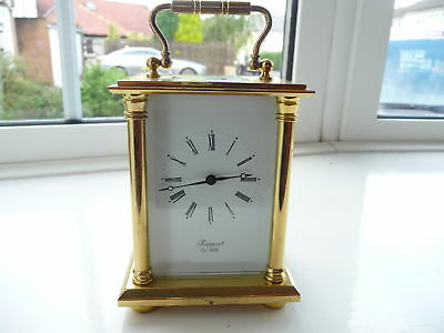 Antique Brass Rapport 8 Day Carriage Clock