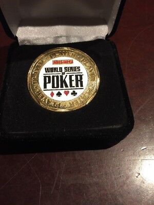 World Series of Poker 2011-2012 Commemorative Player Chip, token, button