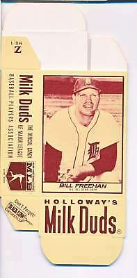 1968 Milk Duds Halloway's Bill Freehan Tigers Card Nm Vl666