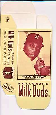 1968 Milk Duds Halloway's Willie Mccovey Giants Card Nm Vl662