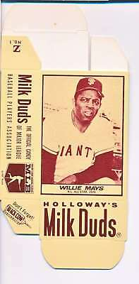 1968 Milk Duds Halloway's Willie Mays Giants Card Nm Vl663
